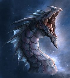 25 inspiring Dragon Illustration Artworks to let you boost your imagination. We are sure you'll like these dragon pictures and learn how to perceive your Mythological Creatures, Fantasy Creatures, Mythical Creatures, Sea Dragon, Blue Dragon, Water Dragon, Dragon Medieval, Dragon Oriental, Legendary Dragons