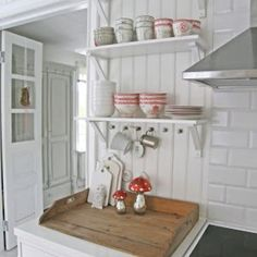 GreenGate stoneware Fay Red, Dora and Spot Beige