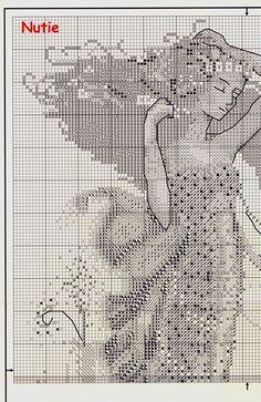 South Seas Mermaid - 2/7 Solo Patrones Punto Cruz (pág. 426) | Aprender manualidades es facilisimo.com