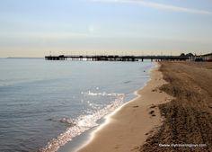 Brzeźno Beach near Gdańsk, Poland