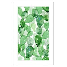 Marmont Hill 'Leafy' Framed Painting Print
