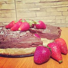 Chocholate and biscuit cake
