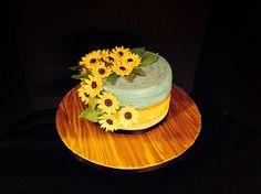 "My interpretation of Van Gogh's ""Sunflowers"" still life."