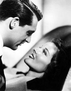 """Cary Grant y Katharine Hepburn en """"La Fiera de mi Niña"""" (Bringing Up Baby), 1938"""