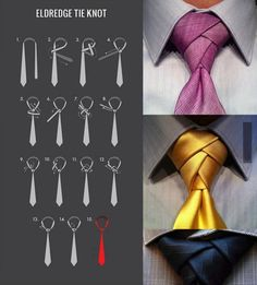 How to tie the Eldredge Tie Knot