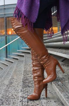 Mai Piu Senza Overknees Outfit 07 skirt skirt skirt skirt outfit skirt for teens midi skirt Thigh High Boots, High Heel Boots, Over The Knee Boots, Heeled Boots, Botas Sexy, Mode Shoes, High Leather Boots, Hot High Heels, Long Boots