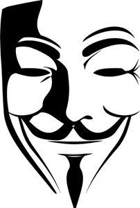 V for Vendetta Logo Vector V For Vendetta Tattoo, V For Vendetta Mask, Time Tattoos, Body Art Tattoos, New Tattoos, Tatouage Plumeria, Vendetta Wallpaper, Joker Face Tattoo, V Pour Vendetta