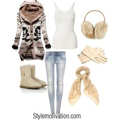 20 super cute winter/ Christmas outfits. All really cute! Read now!! Pin later!! And no I didn't mean the other way around.