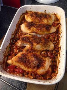 Vicki-Kitchen: Mexican chicken (slimming world friendly)