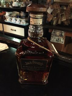 That would be Jack Daniel's Single Barrel