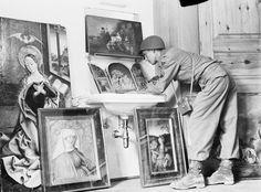 29 mai 1945. Les oeuvres d'art volées par les restes de Nazis un des héritages durables de la guerre, une grande partie de celui-ci manque encore et peut-être encore dans la clandestinité originale oubliés depuis longtemps en place.
