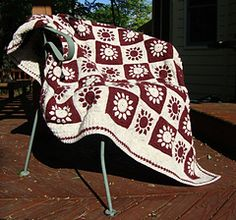 sunrise sunset afghan free pattern