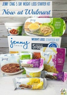 Interested in trying out Jenny Craig food? Stop by Walmart and check out the Jenny Craig 5 Day Weight Loss Starter Kit! #ad #JennyCraigKit @Walmart