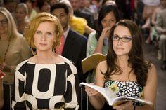 Miranda Hobbes (Cynthia Nixon) and Charlotte York (Kristin Davis) ~ Sex and the City (2008)