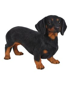 Take a look at this Standing Black Dachshund Statue today!