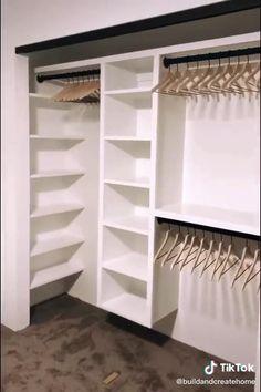 Bedroom Closet Design, Master Bedroom Closet, Closet Designs, Home Room Design, Home Bedroom, Bedroom Decor, Bedroom Storage, Closet Ideas For Small Spaces Bedroom, Shoe Storage Ideas For Small Spaces