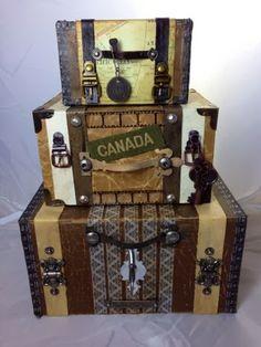 Canadian Nickel Scrap'n: 1st Post of the year- Vintage Suitcases