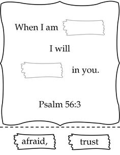 old testament free pictures google search bible class material pinterest free pictures pictures and old testament - Psalm 56 3 Coloring Page
