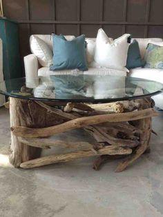 driftwood furniture, driftwood coffee table, eccentric coffee ...