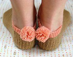 Pompom socks