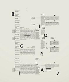 grid system on Behance Cv Inspiration, Typography Inspiration, Graphic Design Inspiration, Type Posters, Graphic Design Posters, Graphic Design Typography, Grid Graphic Design, Editorial Design, Editorial Layout