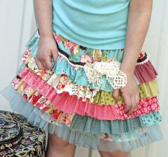 Ruffle JOy skirt pattern