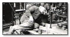 Fred Dibnah, steeplejack, engineer and inspiration to Mark Trotter