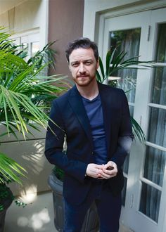 "pr0paganda: ""James McAvoy attends Split Press Conference at the Four Seasons Hotel in Beverly Hills, California on November 16 2016 """