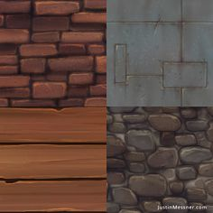 The Art of Justin Messner: Hand-painted Textures (Messner, 2012)