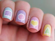 Spektor's Nails geometric shapes #nail #nails #nailart