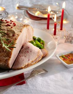 Christmas ham and apple sauce | The Finnish Christmas