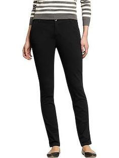 Old Navy // Women's The Sweetheart Skinny Khakis- BlackJack