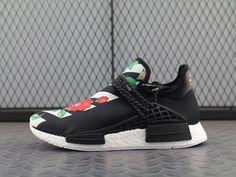 2cae35d98 Women Men New Arrival Cheap Shoe Off White X Adidas Hu NMD Boost Sneakers  Black White Running Sneakerss For Sale Sneakers For Sale