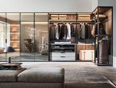 Armoire modulaire moderne – Gliss Master – Molteni & C – The World Closet Walk-in, Closet Bedroom, Closets, Closet Doors, Master Bedroom, Walking Closet, Bedroom Door Design, Bedroom Decor, Bedroom Furniture