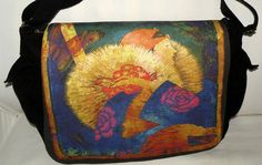 Laptop Bag  MADAME CHINOISERIE  Designer  Messenger by floorartetc, $75.00