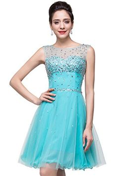 Designer Sheer Backless Homecoming Dresses Beaded Organza Party Gowns, Blue Babyonlinedress http://www.amazon.com/dp/B014R6RF50/ref=cm_sw_r_pi_dp_DAFqwb1YR9W8A