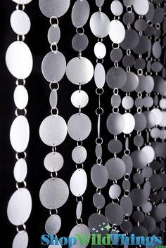 Faux Capiz Shell Beaded Curtain,  Movie:  Dreamgirls