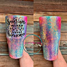 Not Today Heifer Glitter Tumbler Diy Tumblers, Custom Tumblers, Glitter Tumblers, Acrylic Tumblers, Glitter Force, Thermos, Tumblr Cup, Yeti Cup, Custom Cups