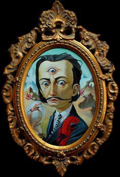 BetweenMirrors.com | Art + Culture Collective: Leslie Ditto - Disturbingly Enchanting Surrealism