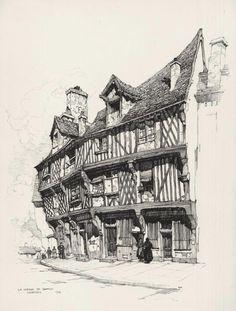 La Maison du Saumon, Chartres