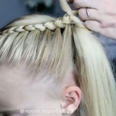 Hairstyles hair hairgoals hairstylist hairstyling hairart hairoftheday hairdresser haironfleek by noemi espinosa 29 animate a las boxer braids! Easy Hairstyles For Long Hair, Braids For Long Hair, Pretty Hairstyles, Braided Hairstyles, Doll Hairstyles, School Hairstyles, Trending Hairstyles, Hair Tutorials For Medium Hair, Medium Hair Styles