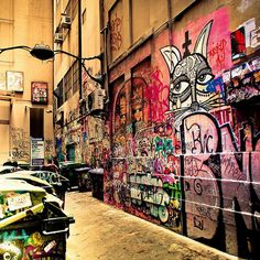 """Melbourne / urban / graffiti art / street photography"" by CubaGallery"