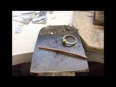 Melting gold to make 3 rings