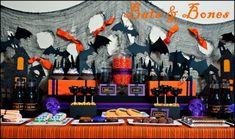 halloween party tables - Buscar con Google