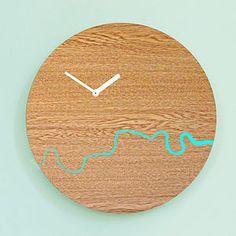Wooden Thames Clock - clocks