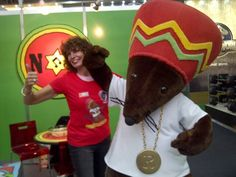 T-Shirt Booth  with Rastamouse at The Big Brand Licensing Europe.t-booth.net