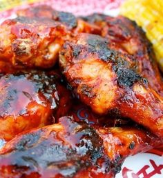 Recipe for Spicy Korean BBQ Chicken, tips for grilling chkn Turkey Recipes, Chicken Recipes, Chicken Dips, Rib Recipes, Grilled Chicken, Korean Bbq Chicken, Chipotle Chicken, Bbq Chicken Thighs, Chicken Breasts