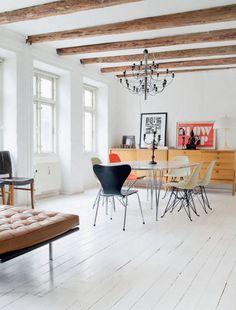 Loft apartment in Copenhagen