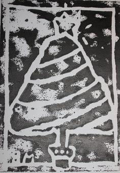 Christmas Printmaking