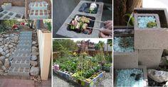 Úžasné domáce projekty vytvorené z betónových tvárnic